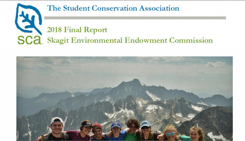 Skagit Environmental Endowment Commission, theSCA, Blog